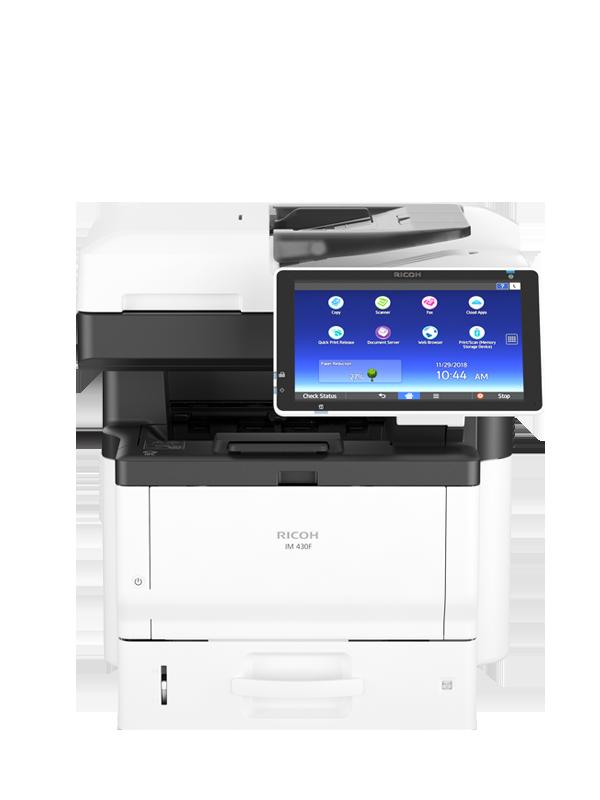 Ricoh IM 430F Impressora Multifuncional Preto e Branco