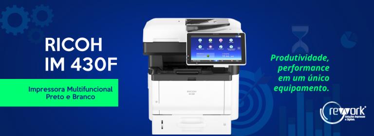 IM430F impressora ricoh